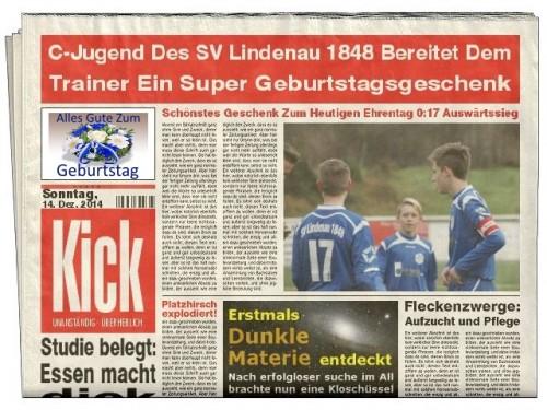 Zeitung C-Jugend