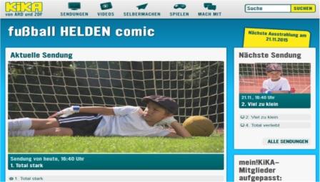 Fußball-Comic MDR