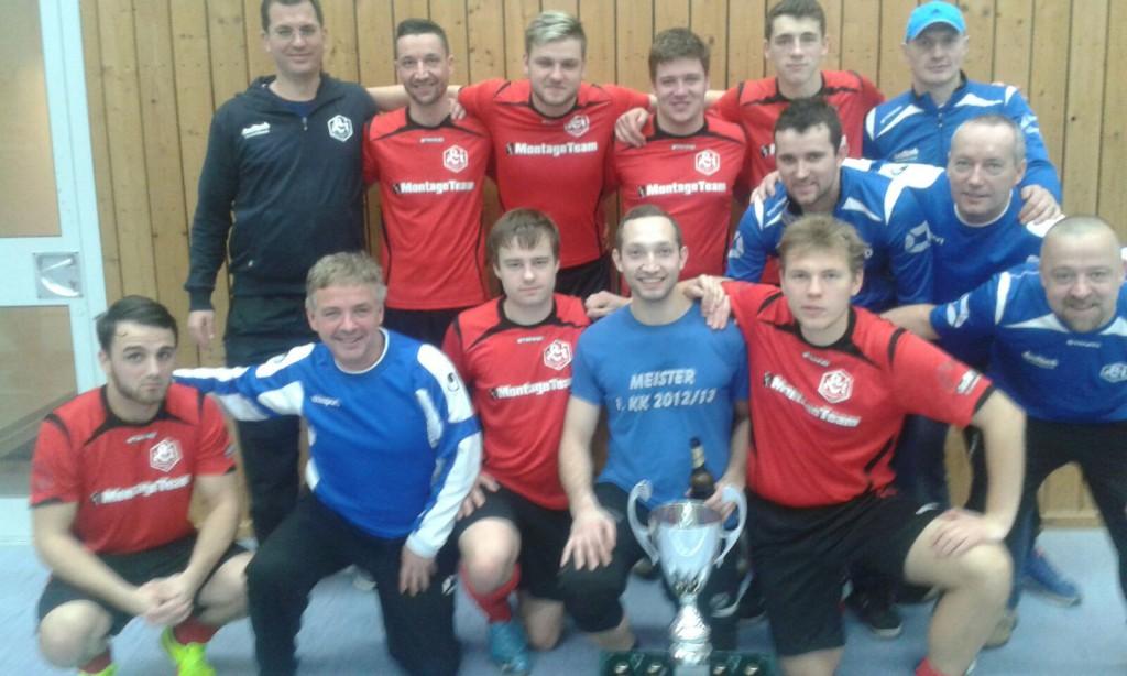 Beim diesjährigen Hallenpokal haben sie sich den zweiten Platz geholt - im Stadtpokal müssen sie erstmal das Halbfinale erreichen: die 1. Herren des SV LIndenau 1848