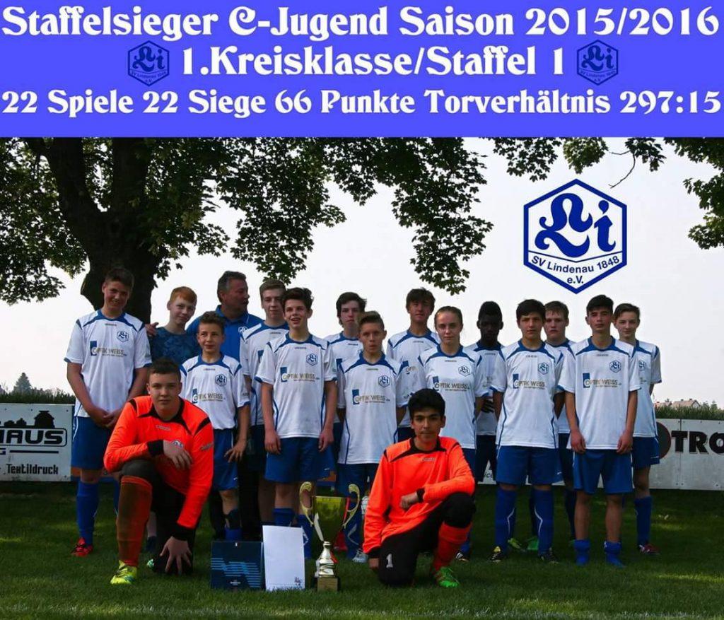 C-Jugend Meisterschaft 2015-16