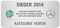 SiegerLogo DFB-Integrationspreis Verein