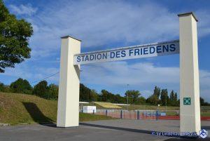 Portal Stadion des Friedens